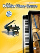 Alfred's Premier Piano Course: Lesson Book w/CD, Level 1B
