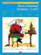 Alfred's Basic Piano Library - Merry Christmas! Book Level 5, Sonatinas