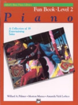 Alfred's Basic Piano Library - Fun Book Level 2