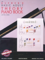 Alfred's Basic Adult Piano Course - Theory Book Level 1