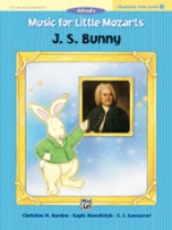 Music for Little Mozarts - Character Solos - J. S. Bunny