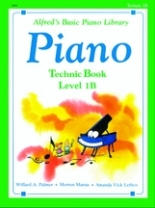 Alfred's Basic Piano Library - Technic Book Level 1B