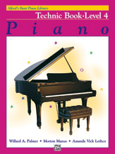 Alfred's Basic Piano Library - Technic Book Level 4