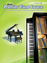 Alfred's Premier Piano Course: Lesson Book, Level 2B (Book only)