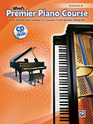 Alfred's Premier Piano Course: Lesson Book w/CD, Level 4