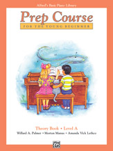 Alfred's Basic Piano Prep Course - Theory Book Level A