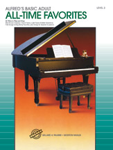 Alfred's Basic Adult Piano Course - All-Time Favorites Level 2