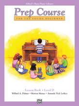 Alfred's Basic Piano Prep Course - Lesson Book Level D