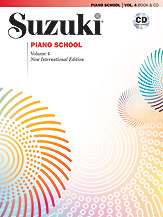 Suzuki Piano School New International Edition Piano Book and CD, Volume 4 (Book & CD)