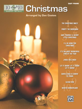 10 for 10 Sheet Music: Christmas - Easy Piano Solos (Book)