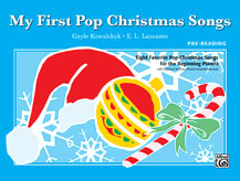 My First Pop Christmas Songs (Book)