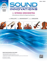 Sound Innovations for String Orchestra, Book 1 - Violin (Book, CD & DVD)