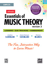 Essentials of Music Theory Web - One Year Online Teacher Subscription