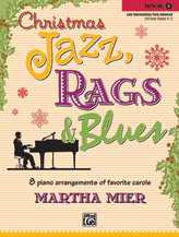 Christmas Jazz, Rags & Blues, Book 5 (Book)