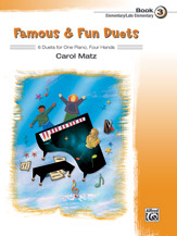 Famous & Fun Duets, Book 3 (Book)