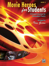 Movie Heroes for Students, Book 3 (Book)