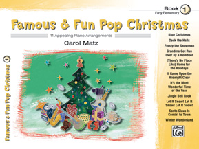 Famous & Fun Pop Christmas, Book 1 (Book)