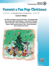 Famous & Fun Pop Christmas, Book 2 (Book)