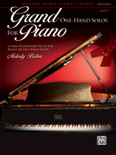 Grand One-Hand Solos for Piano, Book 1 (Book)