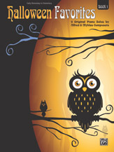 Halloween Favorites, Book 1 (Book)