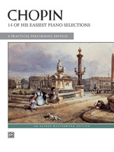 14 Easiest Selections  - Chopin, Frederic