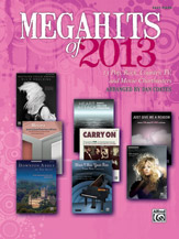 Megahits of 2013 - Easy Piano (Book) Sheet Music - Alfred Publishing Company - Prima Music Cover