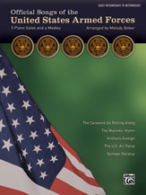 official Songs of the United States Armed Forces (Book)
