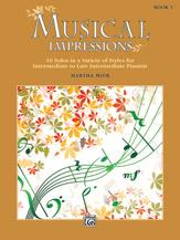 Musical Impressions, Book 3 (Book)