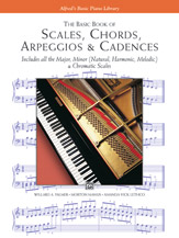 Scales, Chords, Arpeggios and Cadences - Basic Book
