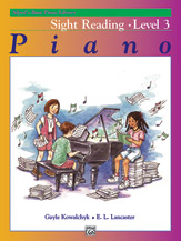 Alfred's Basic Piano Library - Sight Reading Book Level 3