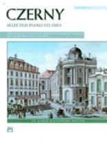 Selected Piano Studies, Volume 1  - Czerny, Carl