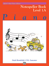 Alfred's Basic Piano Library - Notespeller Book Level 1A