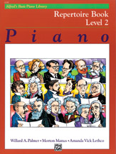 Alfred's Basic Piano Library - Repertoire Book Level 2