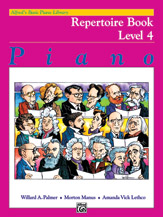 Alfred's Basic Piano Library - Repertoire Book Level 4