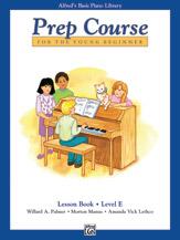 Alfred's Basic Piano Prep Course - Lesson Book Level E