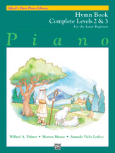 Alfred's Basic Piano Library - Hymn Book Complete Level 2 & 3