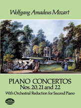 Piano Concertos Nos. 20, 21, and 22 (2 Pianos, 4 hands)