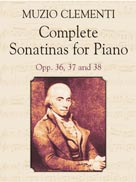 Complete Sonatinas for Piano, Op. 36, 37, and 38
