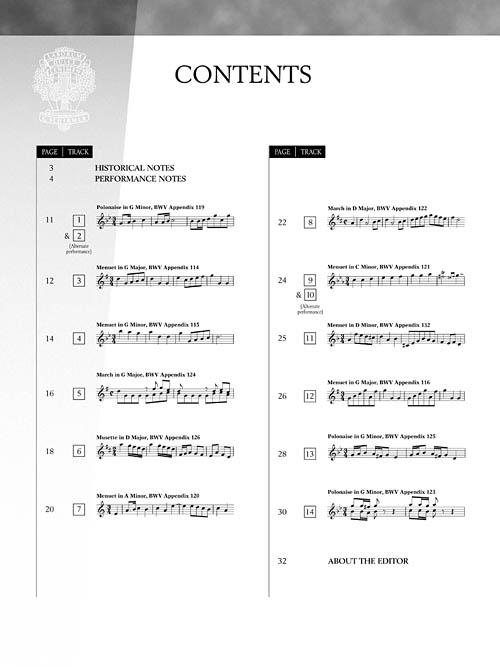 selections from the notebook for anna magdalena bach pdf