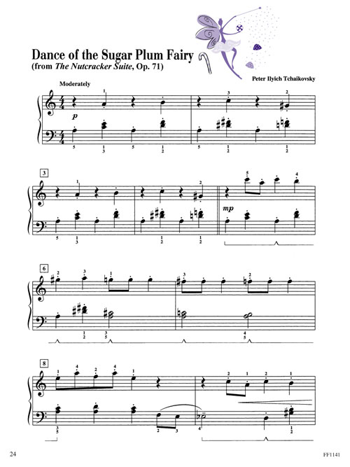 piano adventures christmas book level 3a sheet music. Black Bedroom Furniture Sets. Home Design Ideas