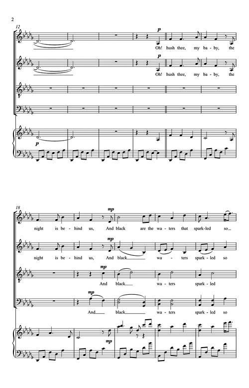 sleep eric whitacre sheet music pdf