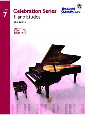 Celebration Series (2015 Edition) - Piano Etudes 7 (Includes Digital Recordings)