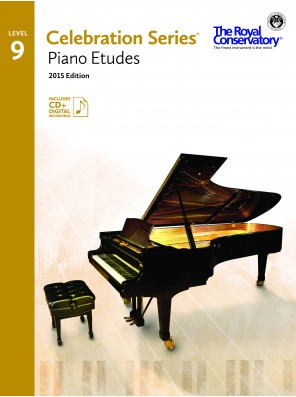 Celebration Series (2015 Edition) - Piano Etudes 9 (Includes Digital Recordings) Sheet Music by The Royal Conservatory Music Development Program - Frederick Harris Music - Prima Music Cover