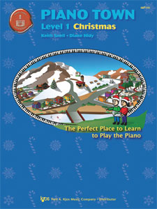 Piano Town Christmas - Level 1