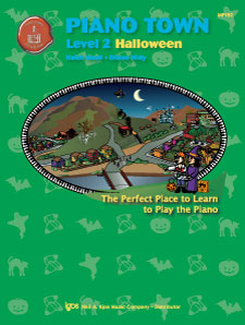 Piano Town Halloween - Level Two