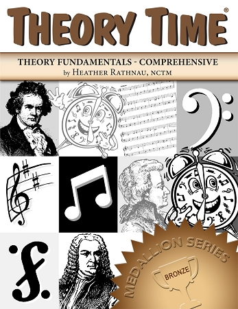 Theory Time Bronze Level Medallion Workbook