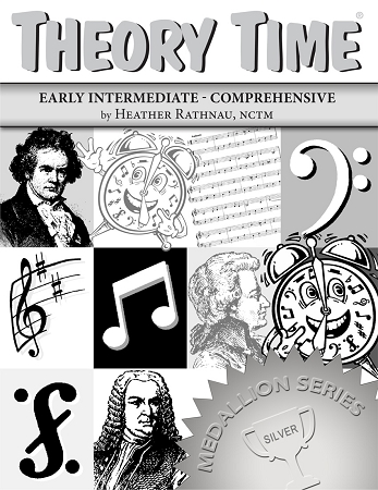 Theory Time Silver Level Medallion Workbook