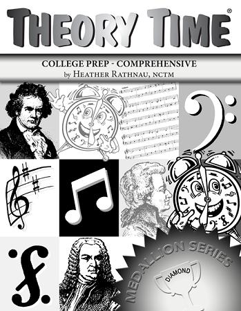 Theory Time Diamond Level Medallion Workbook