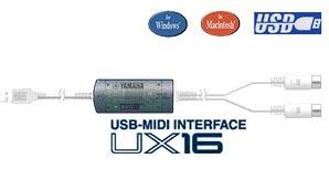 Yamaha UX16 Midi USB Interface