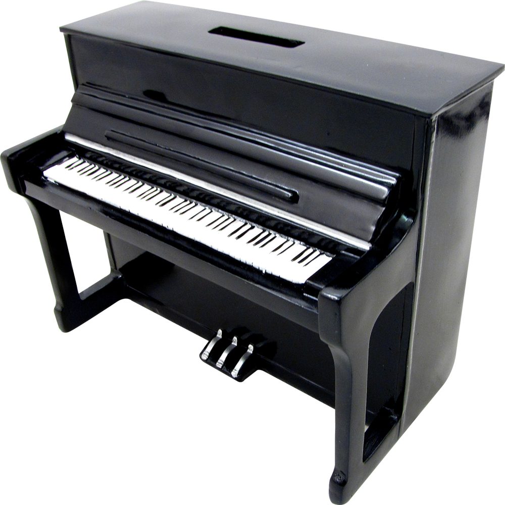 Coin Bank - Upright Piano (6.25